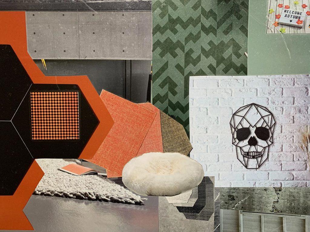 Planche Inspiration projet déco Halloween par e-dea déco