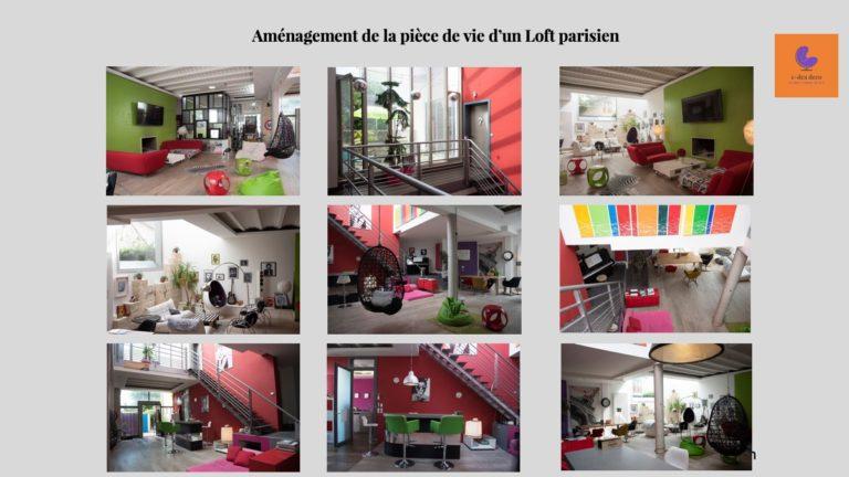 Projet Décoration Loft Parisien