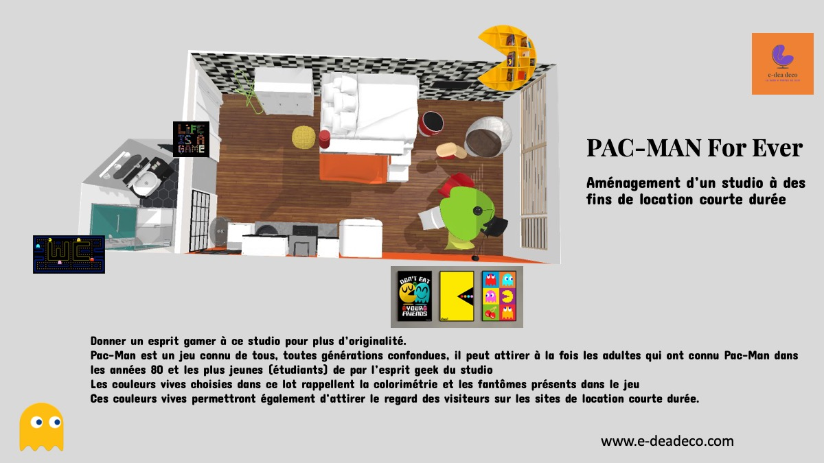 Projet déco Pac-Man ® forever