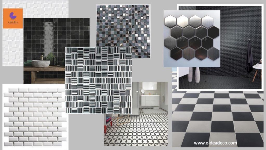 Recherche choix materieux carrelages salle de bain