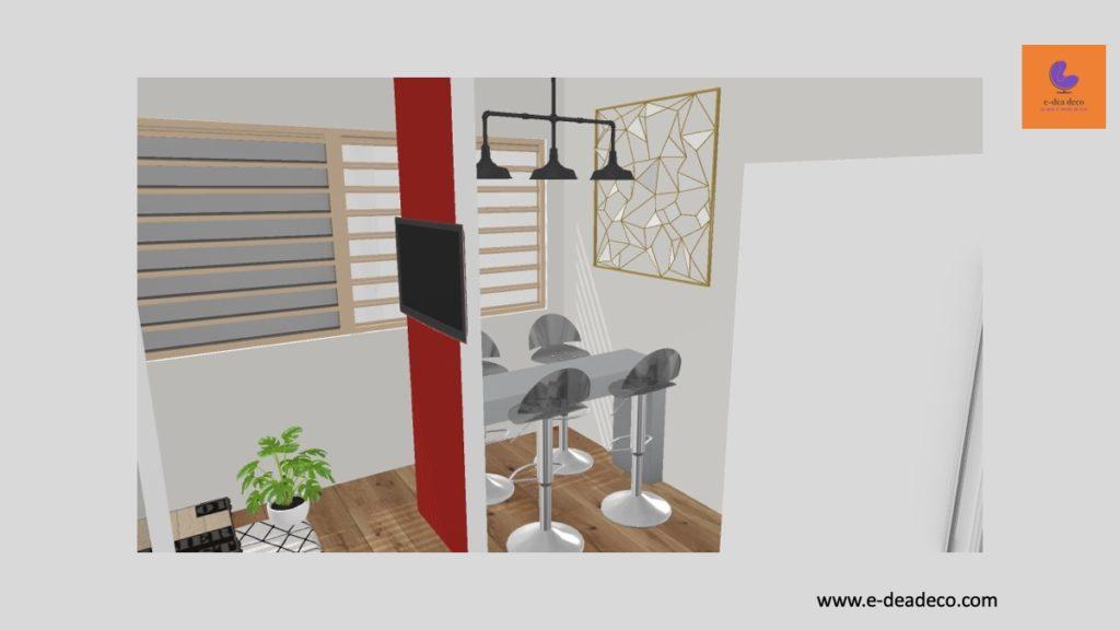 Virtual Staging by e dea deco - Nanterre