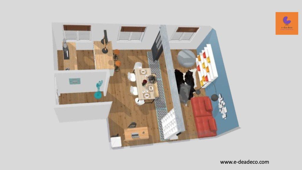 Projet déco Yvelines- Rendus 3D