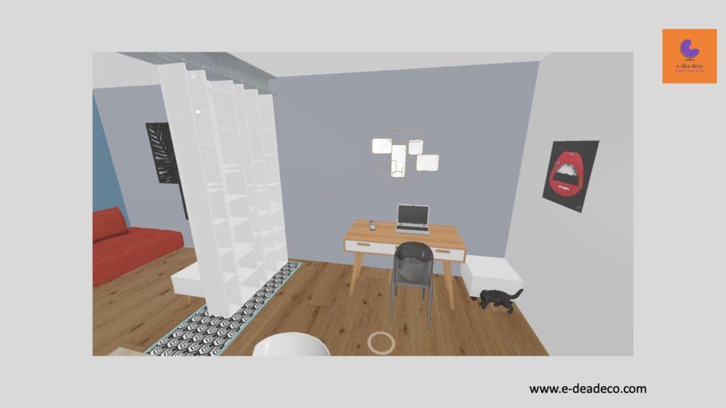 Projet déco Yvelines - Rendus 3D