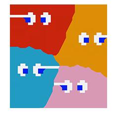 Fantômes Pac Man