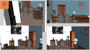 Virtual Staging a Puteaux